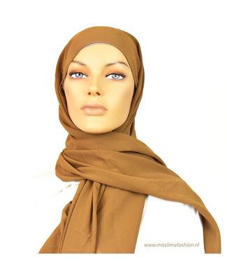 Sófani Chiffon scarf - Tan