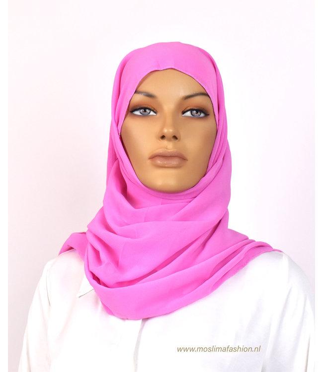 Sófani Chiffon sjaal - Roze