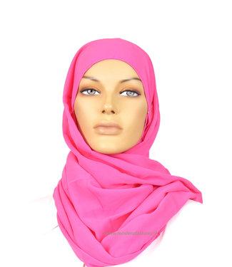 Sófani Chiffon scarf - Dark pink