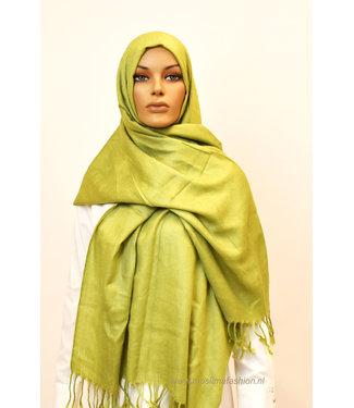 Sófani Luxury pashmina - greenish yellow