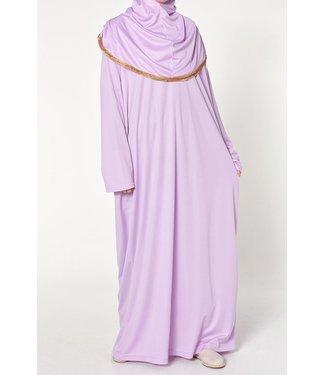 Gebedsjurk met hijab - Lila