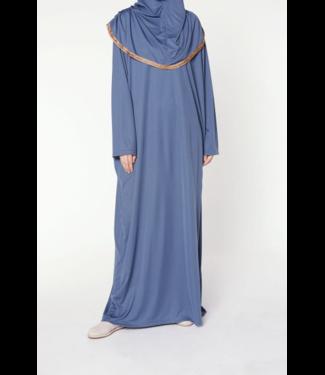 Gebedsjurk met hijab - Hemelsblauw