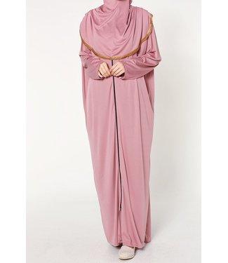 Prayer dress with zipper - Pink