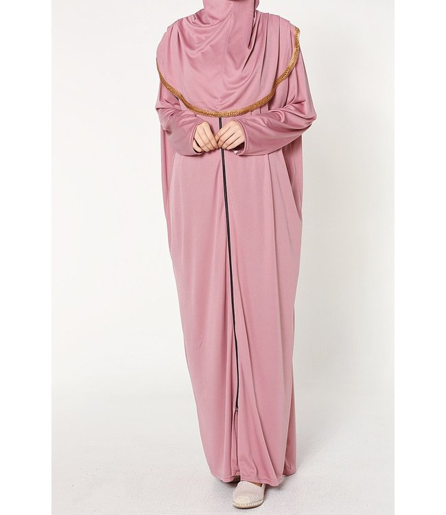 Prayer dress with zipper - Pink