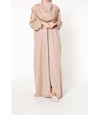 Prayer dress with zipper - Beige