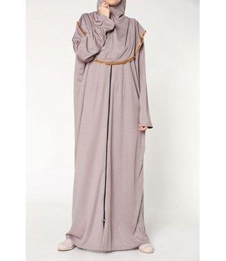 Prayer dress with zipper - Taupe