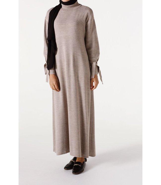 ALLDAY Long turtleneck tunic - Beige