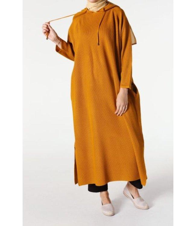 ALLDAY Tunic with hood - Orange