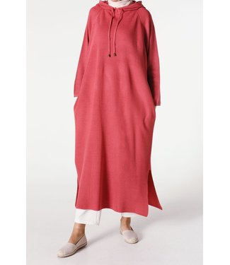 ALLDAY Tunic with hood - Hot pink