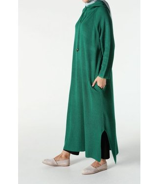 ALLDAY Tunic with hood - Spring green