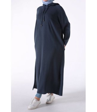 ALLDAY Tunic with hood - Dark blue