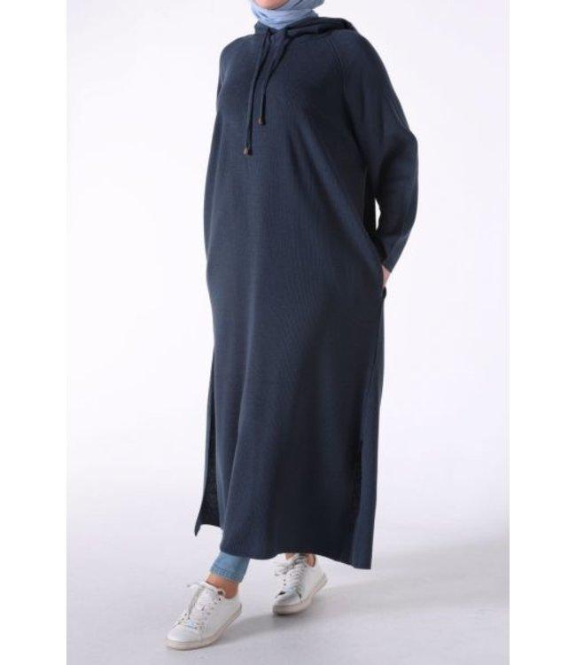 ALLDAY Tunic with hood - Dark blue
