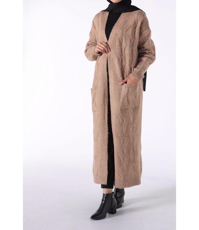ALLDAY Warm cardigan - Beige