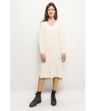 Long sweater - Ecru