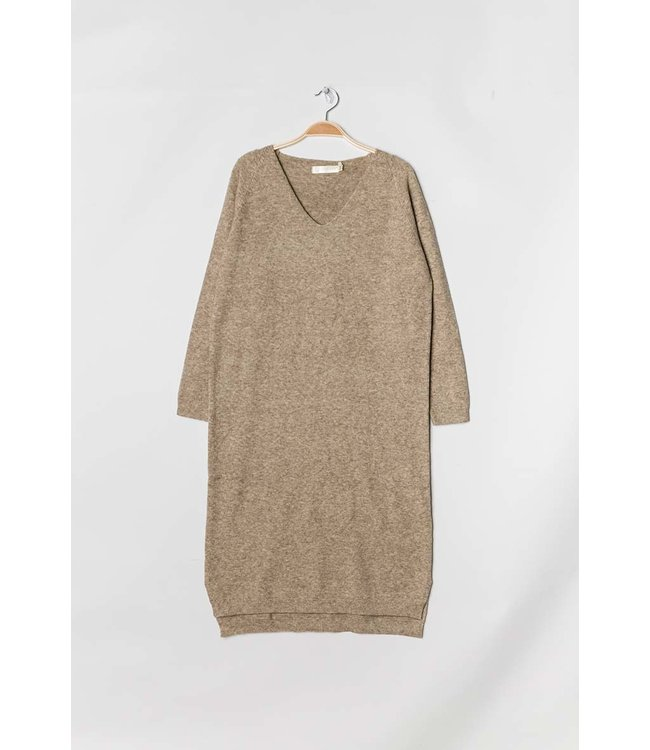 Long sweater - Taupe