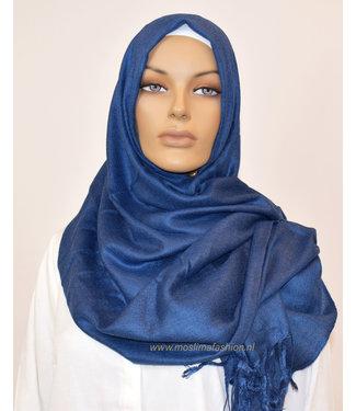 Sófani Luxe pashmina - Donkerblauw