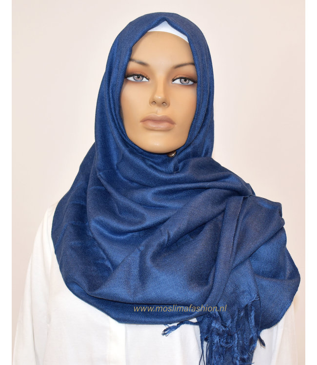 Sófani Luxury pashmina - Dark blue