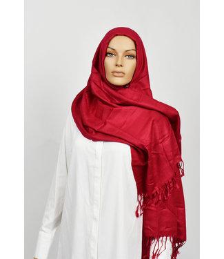 Sófani Luxury pashmina - Dark red
