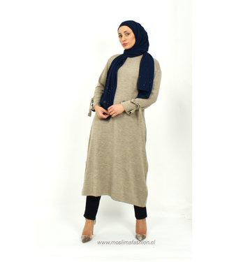 Outfit warme trui en jeans