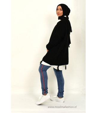 Outfit losse trui en jeans