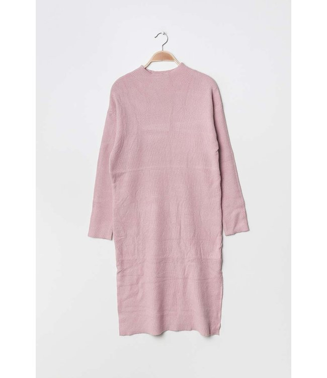 Knitted tunic - Light pink