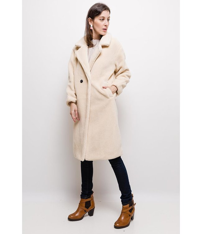 Teddy jacket - Beige