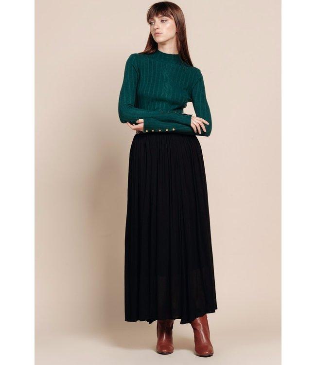 Long skirt - black