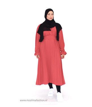 Outfit wrap dress - Raspberry