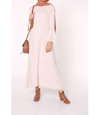 Knitted tunic - Cream