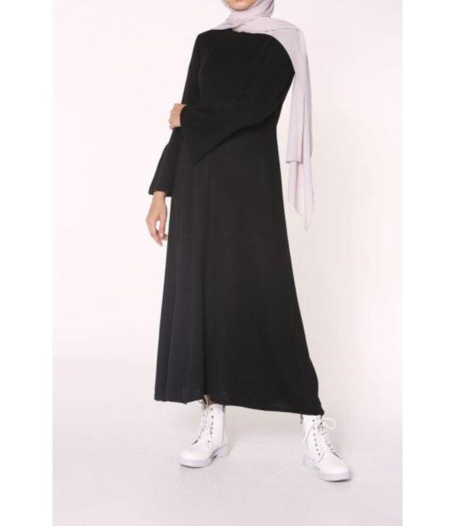 Gebreide tuniek - Zwart