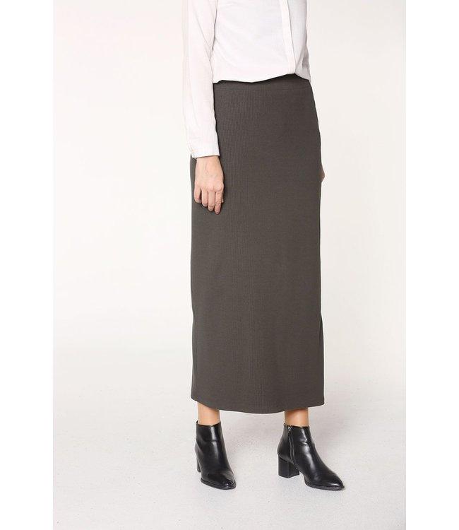 ALLDAY Cotton skirt - Khaki