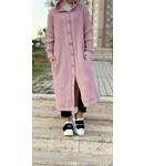 Long cardigan - Pink