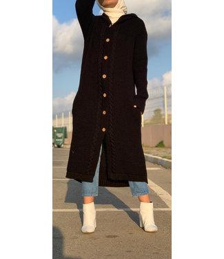 Long cardigan - Black