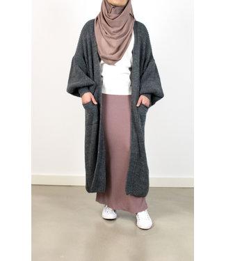 Outfit vest met pofmowen