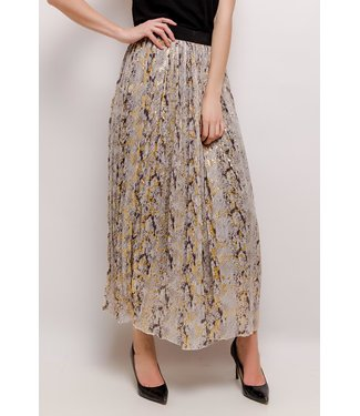 Skirt with python print - Gray