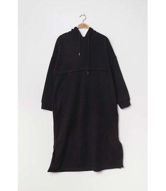 Casual jurk/sweater - Zwart