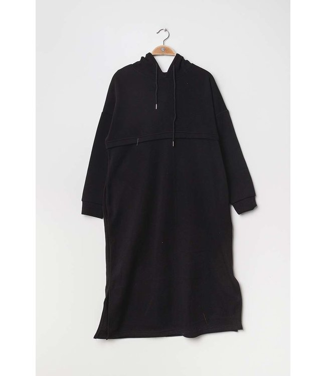 Casual dress / sweater - Black