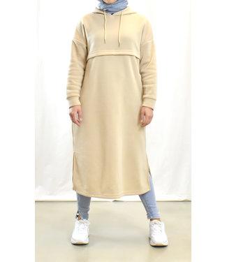 Casual dress / sweater - Beige