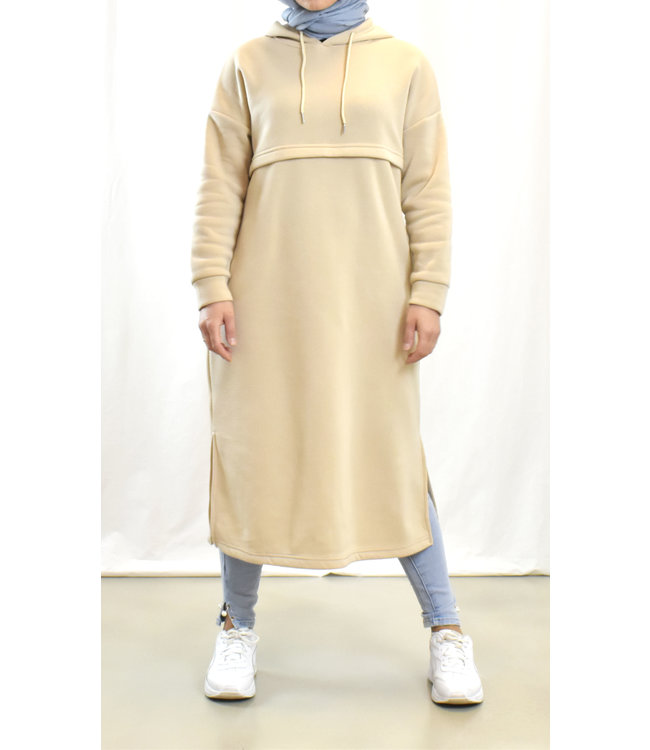 Casual jurk/sweater - Beige