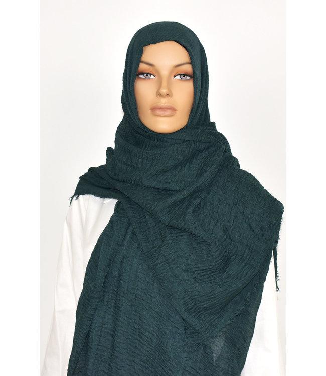 Skin hijab - Dark clay gray