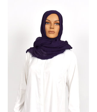 Skin hijab - Dark purple