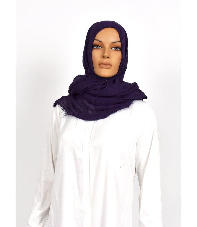 Skin hijab - Dark purple