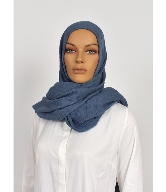 Skin hijab - Slate gray