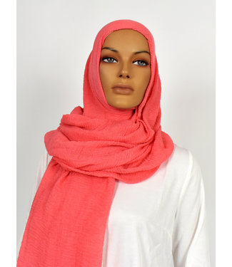 Skin hijab - Coral