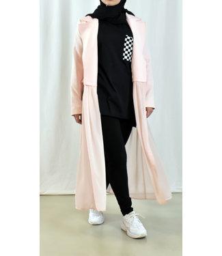 Open blazer - Roze