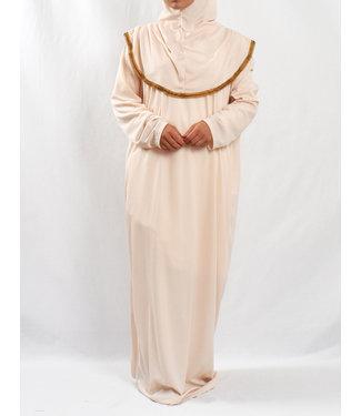 Prayer dress with hijab - Cream