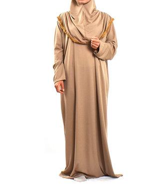 Prayer dress with hijab - Mocha