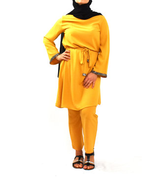 Set of pants and tunic - Ocher