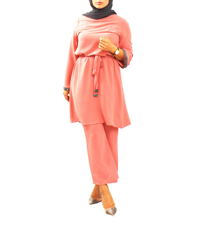 Pants and tunic set - Powder pink