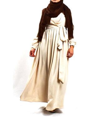 Wrap Dress - Cream